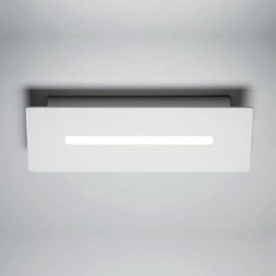 Applique 00023.20 way bianco, in alluminio, 23 cm, LED integrato 9W