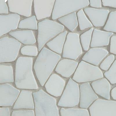 Mosaico Opus White H 31.5 x L 31.5 cm bianco