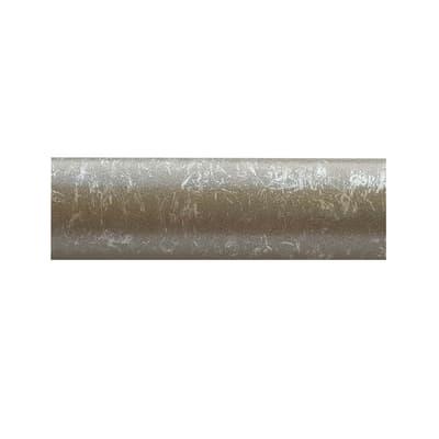 Bastone per tenda Kama in metallo Ø20mm grigio anticato 200 cm INSPIRE
