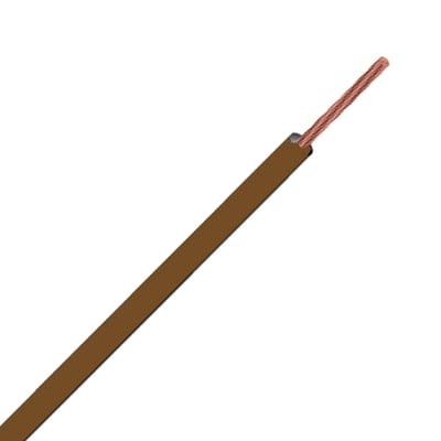 Cavo elettrico LEXMAN 1 filo Matassa 15 m marrone
