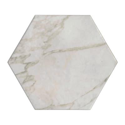 Piastrella Esagona H 15 x L 17.3 cm PEI 4/5 avorio