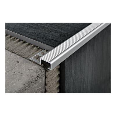 Giunto di dilatazione e frazionamento Probrastep alluminio 3 x 270 cm
