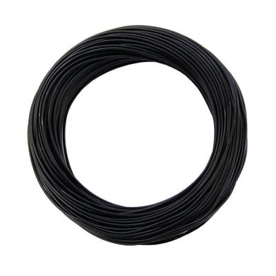 Cavo elettrico LEXMAN 1 filo Matassa 5 m nero