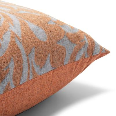 Cuscino Maxi musa arancione 130x130 cm