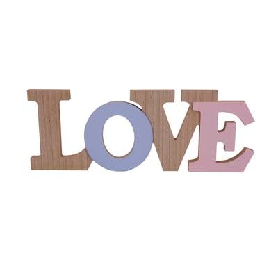 Scritta Love Mdf 30x13 cm