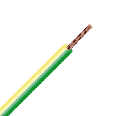 Cavo elettrico LEXMAN 1 filo Matassa 25 m giallo/verde