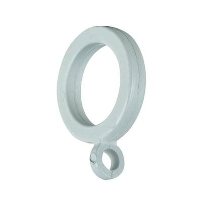 Anelli in ferro bianco INSPIRE, 8 pezzi