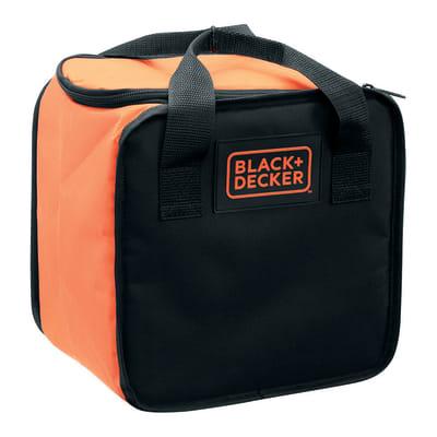 Trapano avvitatore a batteria BLACK+DECKER BDCDD12S32A-QW, 10,8 V, 1.5 Ah, 1 batteria