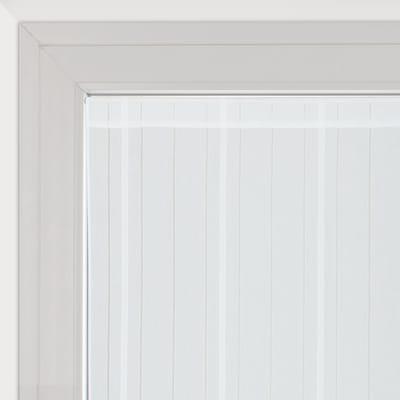 Tendina vetro Picasso bianco tunnel 45x170 cm