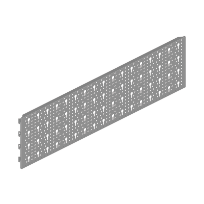 Supporto Kit garage L 79 x H 20 cm grigio / argento
