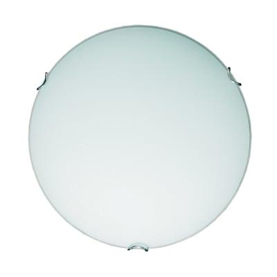 Plafoniera classico Ariel bianco, in vetro,  D. 30 cm 30 cm, LUMICOM