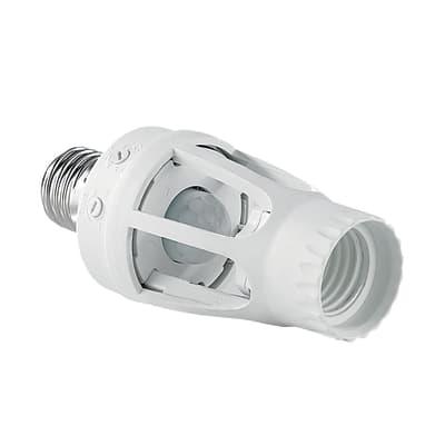 Portalampada E27 bianco