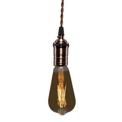 Lampadina Filamento LED E27 edison bianco caldo 3.5W = 300LM (equiv 28W) 360° LEXMAN