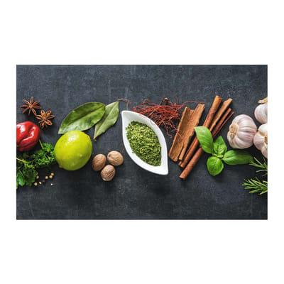 Passatoia Cucina antiscivolo Printo chef multicolor 80x50 cm