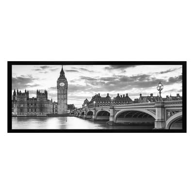 Stampa incorniciata Londra 20x50 cm