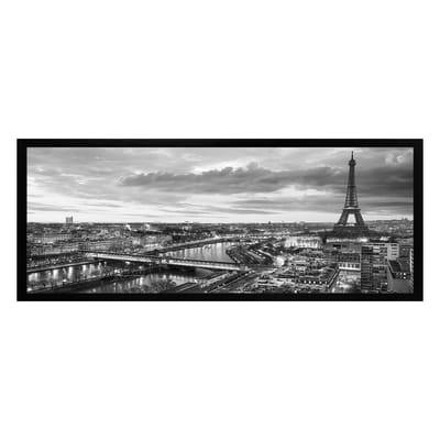Stampa incorniciata Parigi 20x50 cm