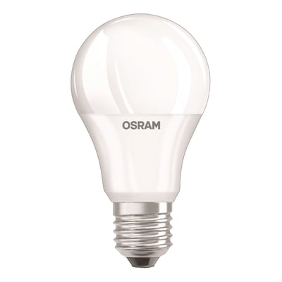 Lampadina LED, E27, Goccia, Opaco, CCT, 9.5W=806LM (equiv 60 W), 200° , OSRAM