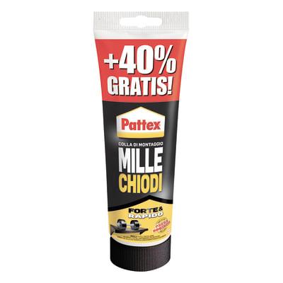 Colla Millechiodi Forte&Rapido PATTEX bianco 350