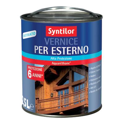 Flatting liquido SYNTILOR 2.5 L incolore satinato