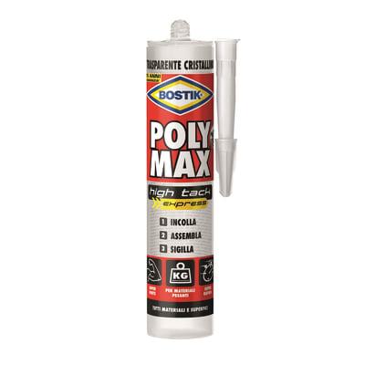 Colla di montaggio Poly Max High Tack Express BOSTIK trasparente 300