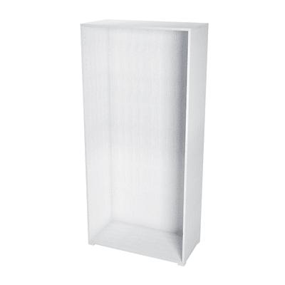 Struttura Spaceo L 90 x H 192 x P 60 cm bianco