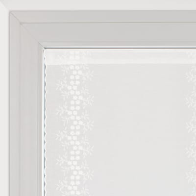 Tendina vetro Aida naturale tunnel 60 x 240 cm