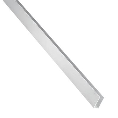 Profilo u STANDERS in alluminio 1 m x 1 cm grigio