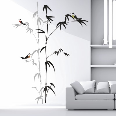 Sticker Bamboo 9x106 cm