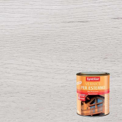 Vernice per legno da esterno liquido SYNTILOR 0.25 L bianco lucido