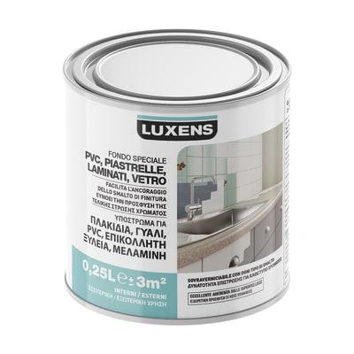 Primer precolorazione LUXENS base acqua interno / esterno per piastrelle, pvc, laminati, vetro 0.25 L
