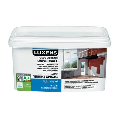 Primer precolorazione LUXENS base acqua interno Universale 2.5 L