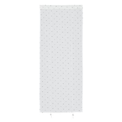 Tendina a vetro regolabile Andorra bianco e beige tunnel 60x150 cm