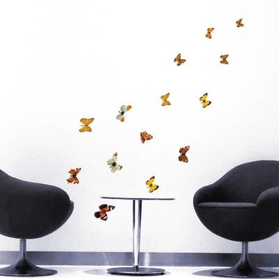 Sticker Butterflies 31.5x34 cm