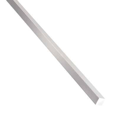 Profilo quadrati pieni STANDERS in alluminio 1 m x 0.8 cm grigio