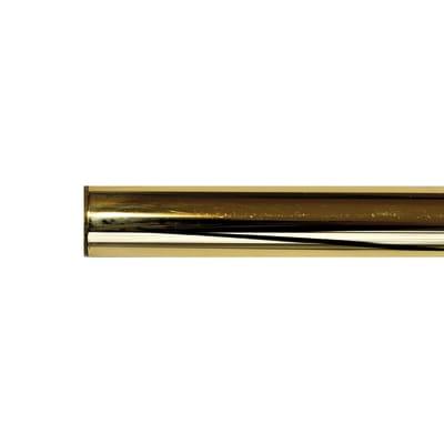 Bastone per tenda Volga in metallo Ø20mm ottone lucido 150 cm