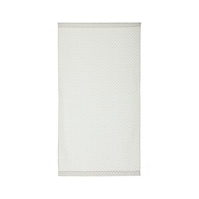Tendina vetro Pois panna tunnel 90x160 cm