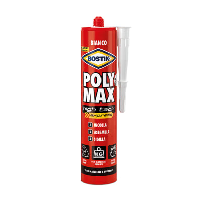 colla poly max high tack express bostik bianco 425 prezzi