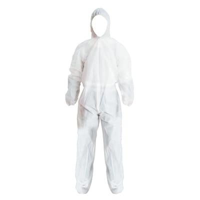 Tuta di protezione da lavoro usa e getta per pittura bianco tg xl