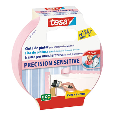 Nastro mascherante TESA Precision Sensitive 25 m x 25 mm superfici delicate