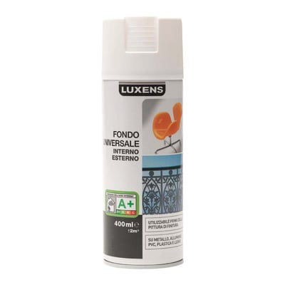 Fondo spray LUXENS Universale bianco  0.4 L