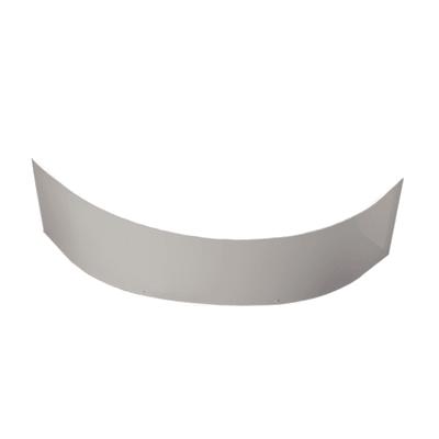 Pannello di rivestimento vasca frontale Trevo acrilico bianco L 135 x H 56 cm