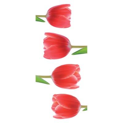 Sticker Tulips 15.5x34 cm