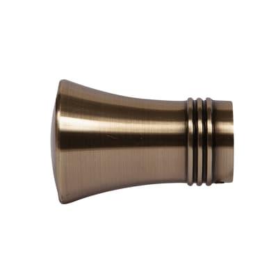 Finale per bastone Tarim cono Ø28mm oro anticato INSPIRE