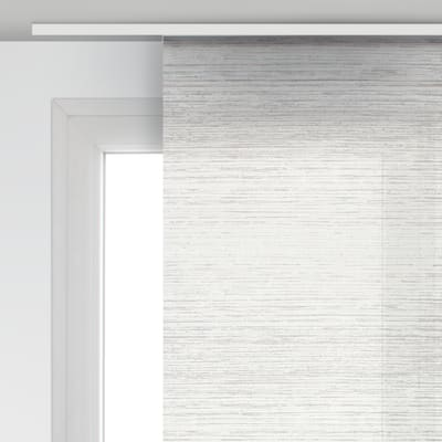 Pannello giapponese INSPIRE Wood bianco 60x300 cm