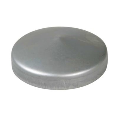 Copri pilastro quadro in acciaio x H 4.2 cm