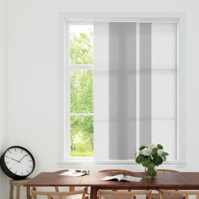Pannello giapponese INSPIRE resinato bianco ottico 60x300 cm