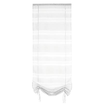 Tendina vetro Tendaggio ecru passanti nascosti 45x200 cm