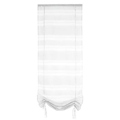 Tendina vetro Tendaggio ecru passanti nascosti 60x200 cm