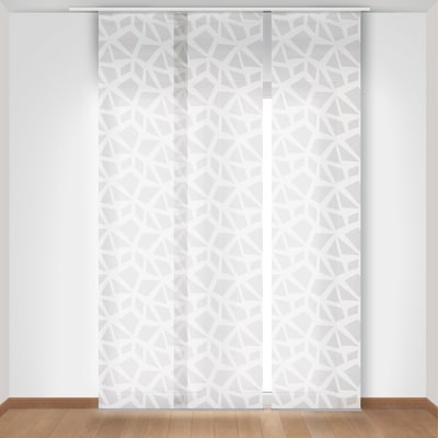 Pannello giapponese INSPIRE Geometrico panna 60x300 cm