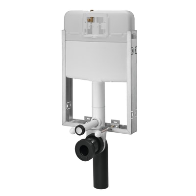 Cassetta wc a incasso SIAMP Intraslim pulsante doppio comando 7.2 L